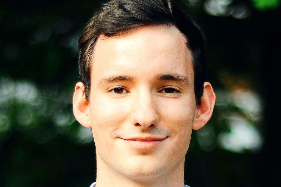 Grünen-Kandidat Jan-Lukas Schmitt    Foto: Mariana Bittermann