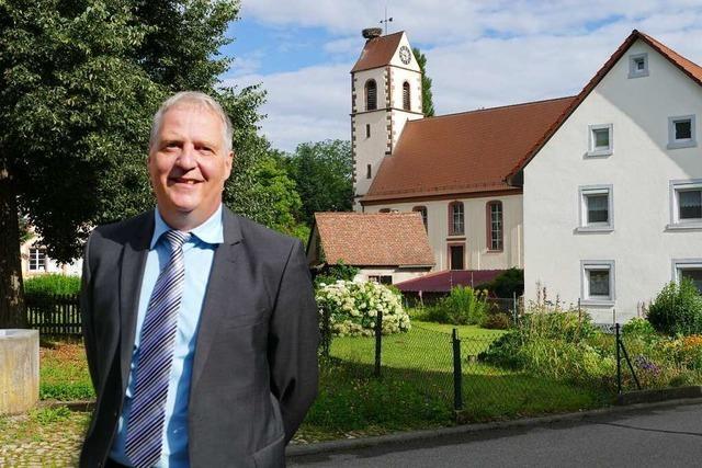 Martin Gräßlin führt die Liste zur Bürgermeisterwahl in Schallbach an