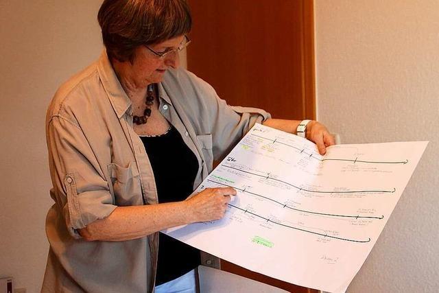 Gudrun Schmauks aus Schmieheim schreibt Krimis, seit sie in Ruhestand ist
