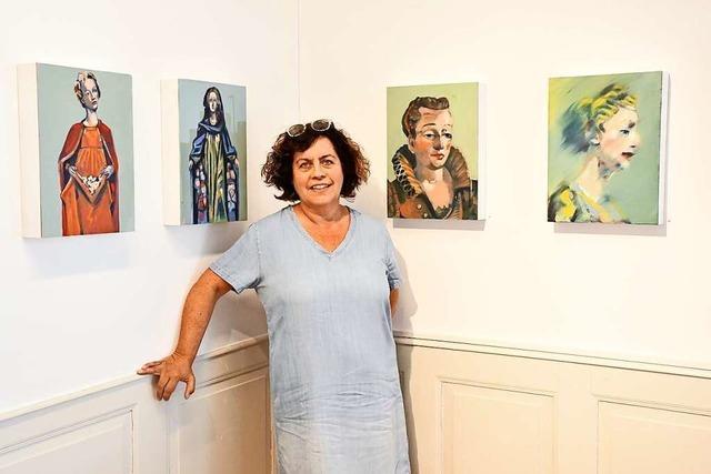 Beate Fahrnländer zeigt Werke in ihrer ersten großen Einzelausstellung