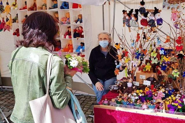 Emmendinger Künstlermarkt mit fliegendem Holländer