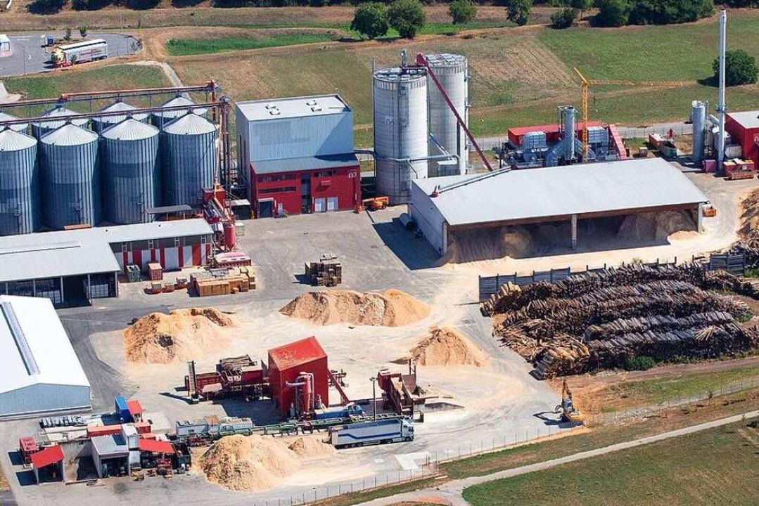 Der Werksverkauf des Pelletwerks in Et...is Freitag von 16 bis 20 Uhr geöffnet.    Foto: EC Bioenergie