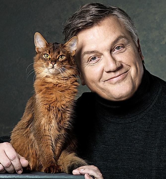 Hape Kerkeling – mit Katze  | Foto: Susie Knoll
