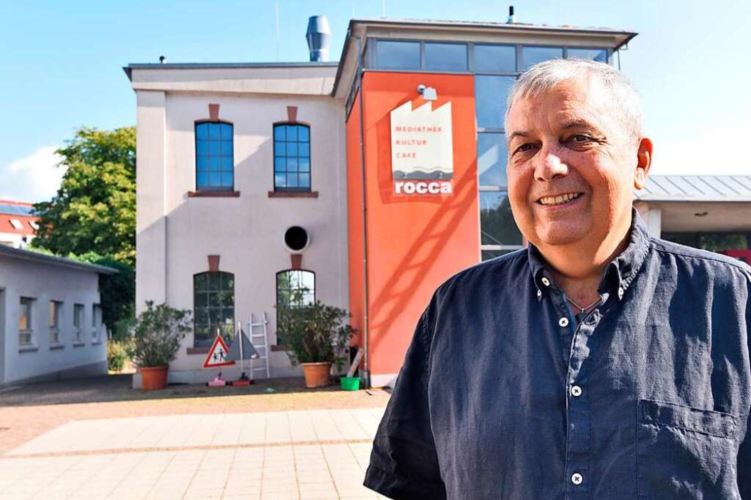 Auf die Rocca ist Volkmar Bensch als A...e als Gemeinderat gleichermaßen stolz.    Foto: Markus Zimmermann