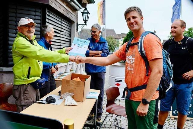 Marathonstrecke ab Laufenburg reizt viele Wanderer