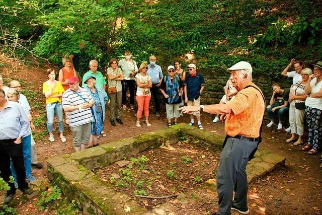 Zahlreiche Besucher im Englischen Garten in Hugstetten und im alten Dreiseithof in Eichstetten