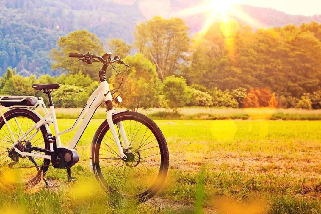 Mit dem Rad unterwegs macht nur Spaß, ... Reifen gut aufgepumpt sind<ppp></ppp>  | Foto: Patrizia Tilly