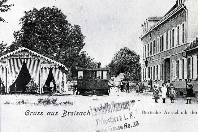 In Breisach war die Brauerei Bercher einmal groß im Geschäft
