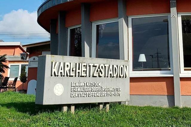 In Offenburg steht der Zeitplan für das neue Fußball-Stadion