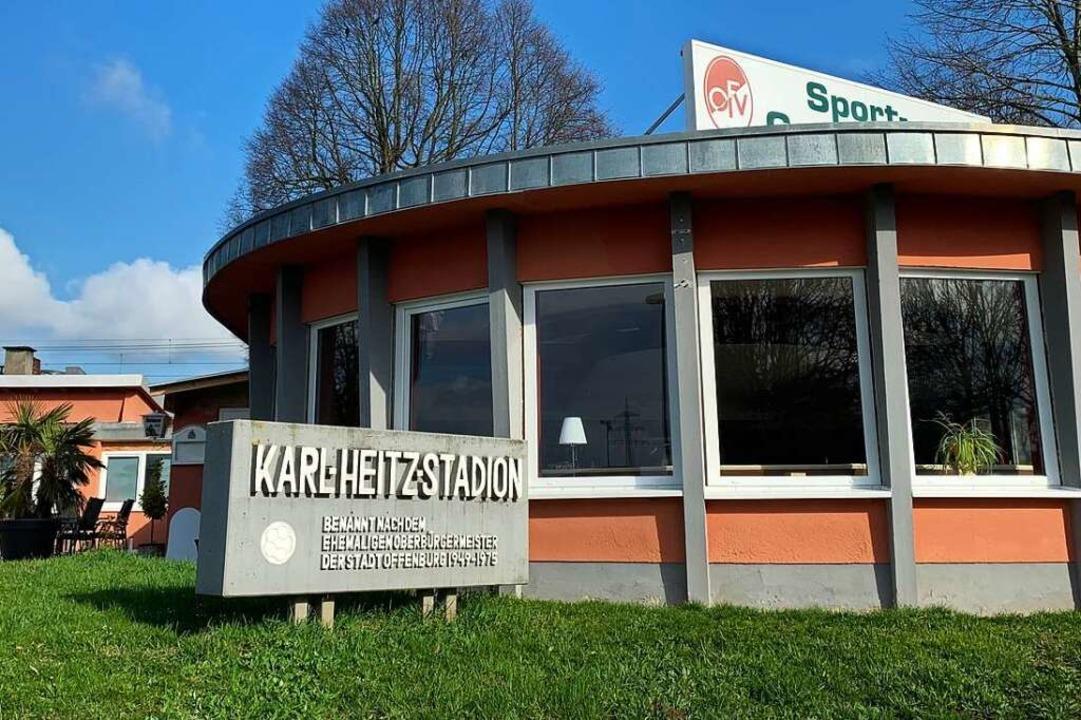 Hat bald ausgedient: das Karl-Heitz-Stadion in Offenburg.  | Foto: Helmut Seller