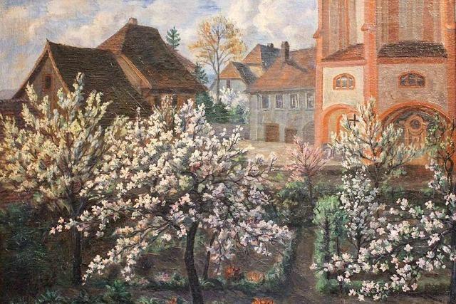 Gemälde im Schloss Schönau bietet Blick in eine andere Zeit