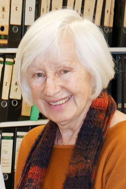 Die Historikerin Adelheid Enderle  | Foto: Michael Gottstein
