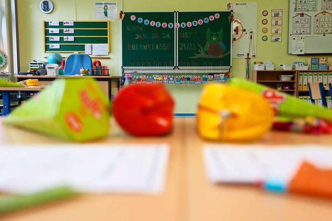 An der Grundschulen beginnt das neue Schuljahr.    Foto: Matthias Bein (dpa)