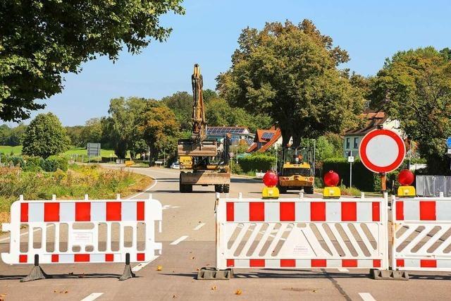 In Mahlberg herrscht teilweise Chaos nach der Sperrung der Bundesstraße 3