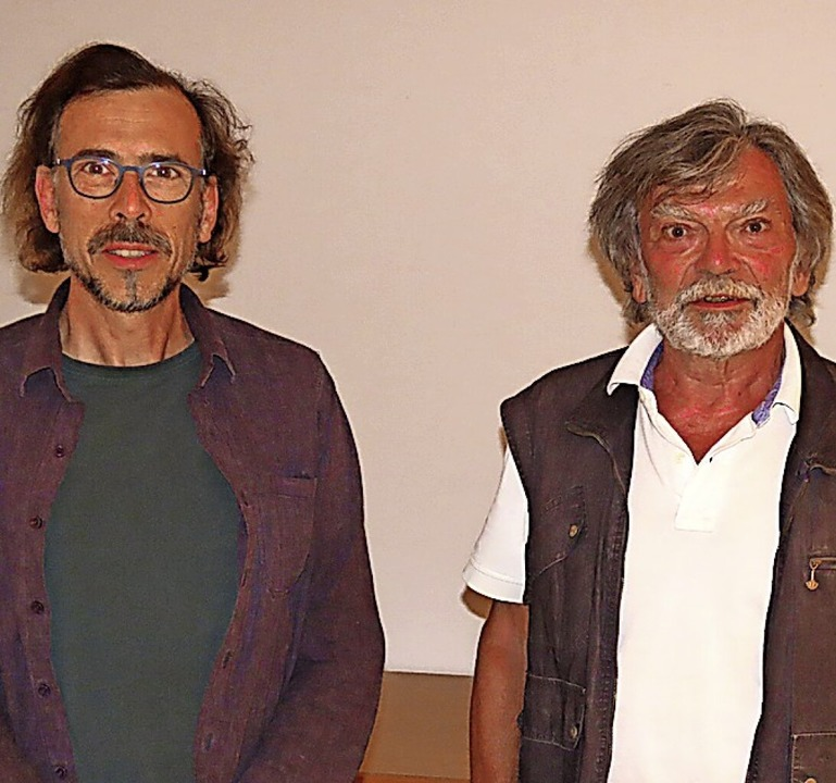 Oliver Haury (links)  kommt  als neuer... ins Vorstandsteam der BI Atdorf dazu.    Foto: Gerd Leutenecker
