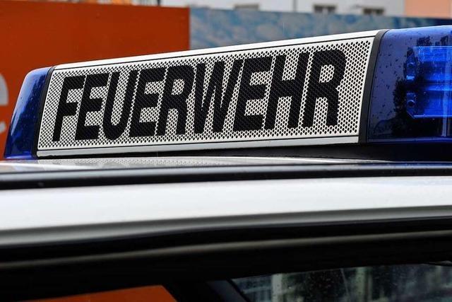 Freiburg: Festnahme mit Rettungskräften und Sprungtuch