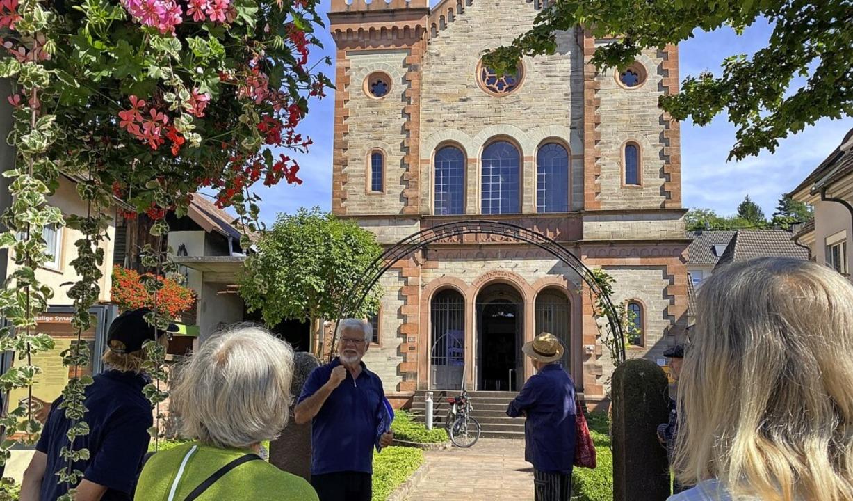 Der Start der Radtour in  Kippenheim   | Foto: Förderverein Ehemalige Synagoge Kippenheim