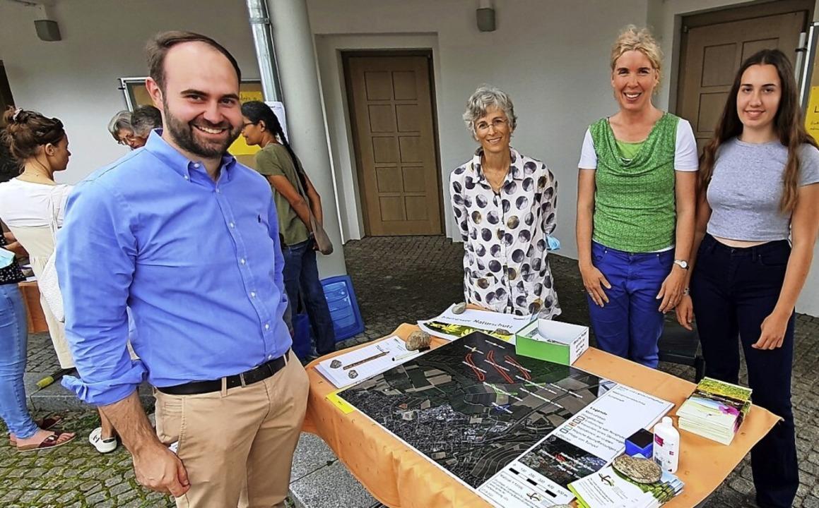 """Mit im Boot bei Klimaschutz und Landsc... im Klimaforum """"Weitwurf"""".    Foto: Julius Wilhelm Steckmeister"""