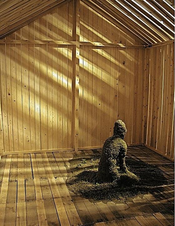 """Takakazu Takeuchis Werk  """"Dream of the Wooden Hut""""    Foto: © Takakazu Takeuchi"""