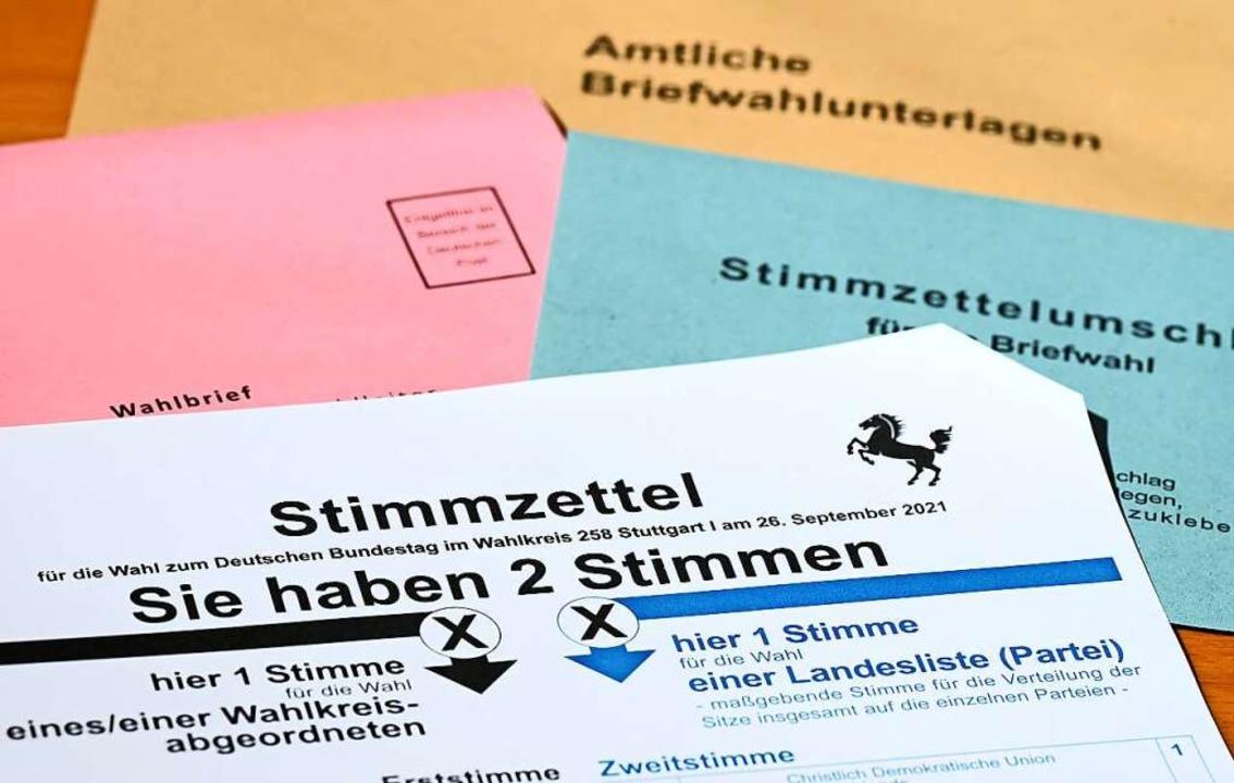 Freiburg erlebt eine spannende Bundestagswahl.  | Foto: Bernd Weißbrod (dpa)