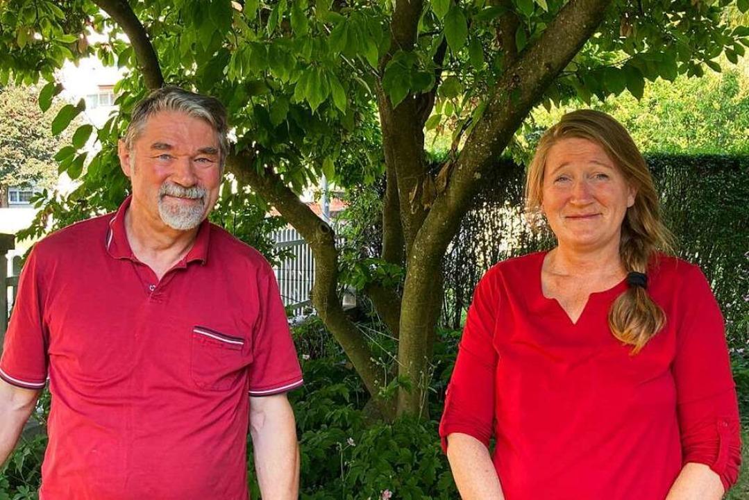 Herwig Eggers und Irene Blaha kümmern sich beim BUND um die Kesslergrube.  | Foto: Dora Schöls