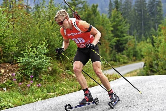 Gesetzt für den Biathlon-Weltcup