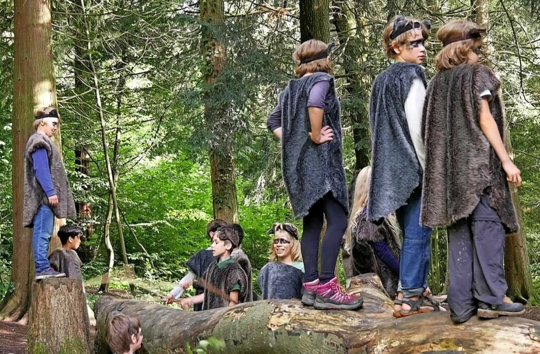 Kurz vor dem Beginn der Sommerferien f...m  die Naturfreunde beteiligt waren.      Foto: Veit Merkle