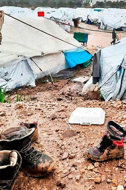 Bilder aus Flüchtlingslagern – h...wird, – regen zum Nachdenken an.  | Foto: Veranstalter