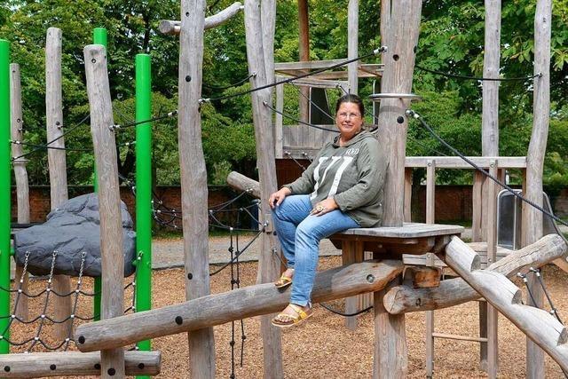 Anja Bartsch ist Freiburgs oberste Spielplatzgestalterin