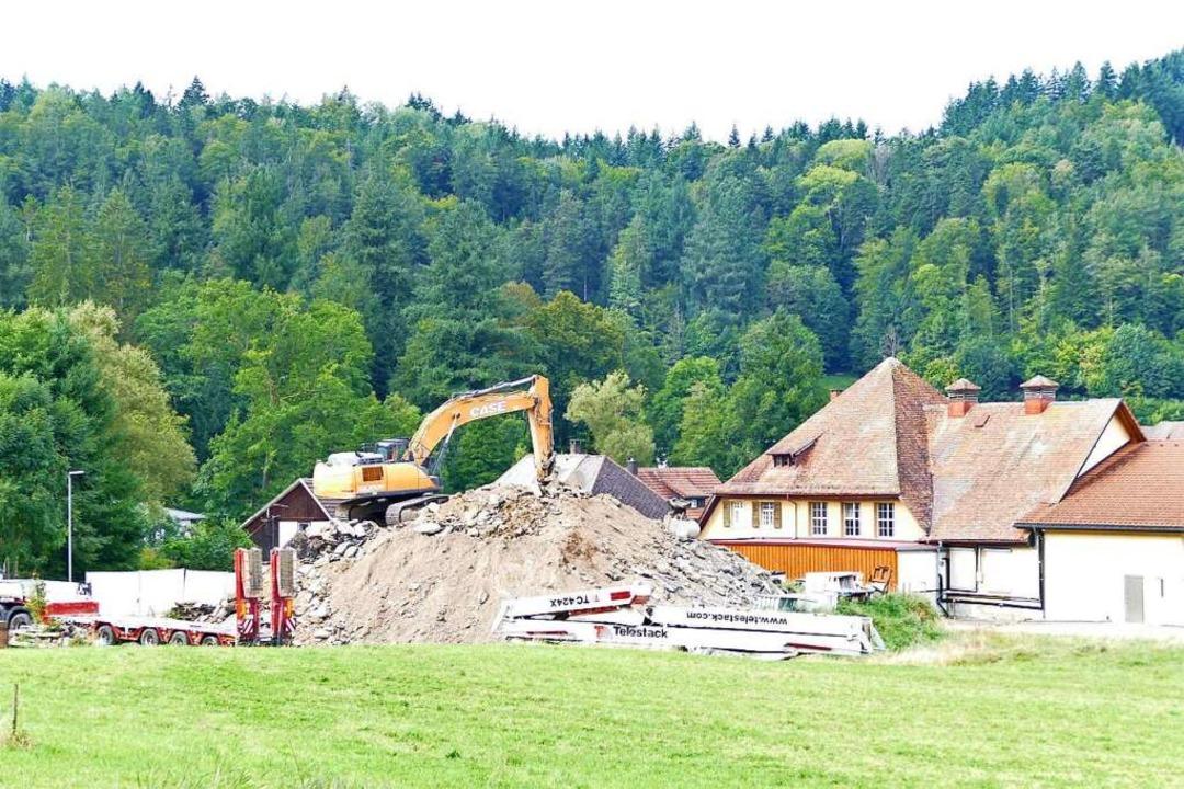 Die Ablagerung von Erdaushub beim Schl...Münzer (CDU) im Gemeinderat zum Thema.  | Foto: Sarah Trinler