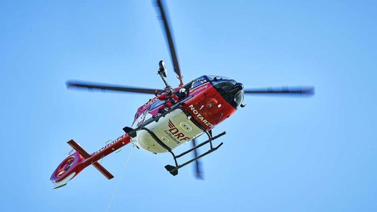 Helikopter der Deutschen Rettungsflugwacht    Foto: DRF LUftrettung Freiburg
