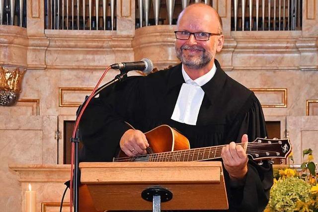 Gerrit Hohage möchte neuer Pfarrer in Gundelfingen werden