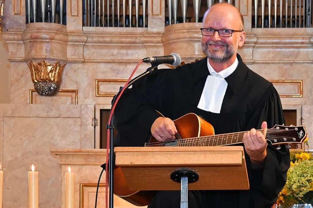 Gerrit Hohage möchte Pfarrer in Gundelfingen werden.    Foto: Andrea Steinhart