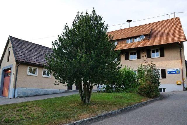 Neues Gerätehaus und neues Baugebiet in Murg-Hänner