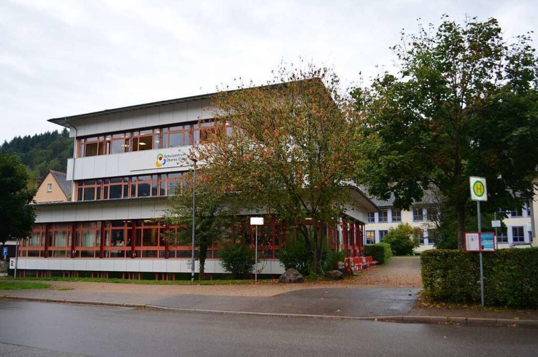 Das Schulzentrum Oberes Elztal in Elza... und Werkrealschule konzentriert sind.  | Foto: Nikolaus Bayer