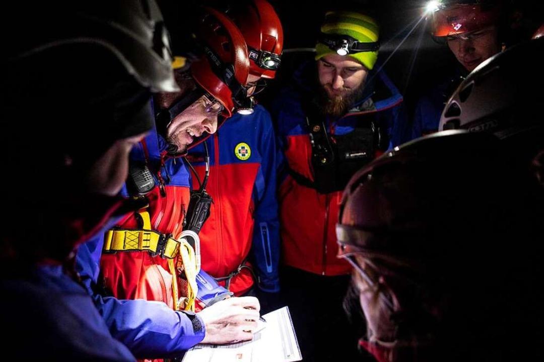 Der Bergrettungsdienst ist auch nachts im Einsatz, wenn er gebraucht wird.  | Foto: Olga v. Plate