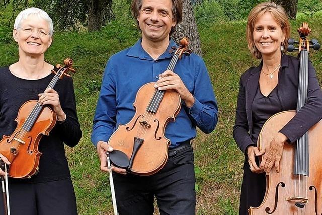 Ines Then-Bergh ist mit zwei Ensembles zu Gast in Hartheim und Kippenheim