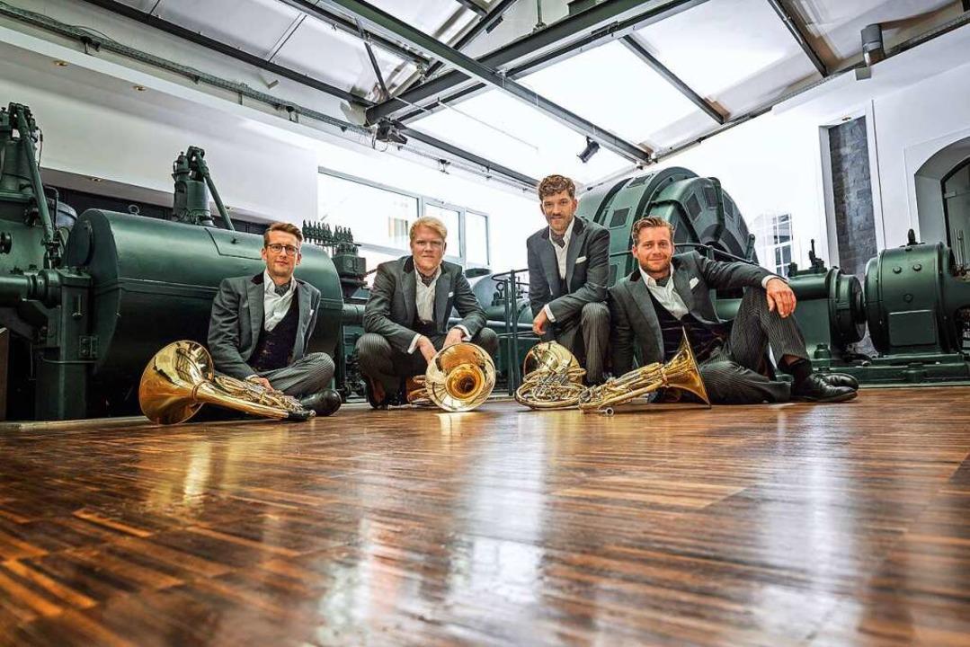 German Hornsounds werden beim Konzert ...hichte dieses Blasinstrumentes bieten.  | Foto: Veranstalter