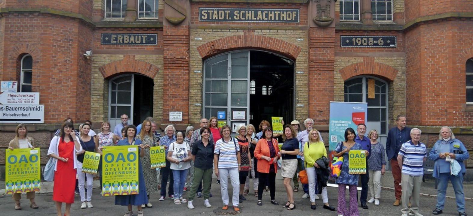 OAO steht für Offene Ateliers Offenbur...stlern am kommenden Wochenende statt.     Foto: Heidi Ast