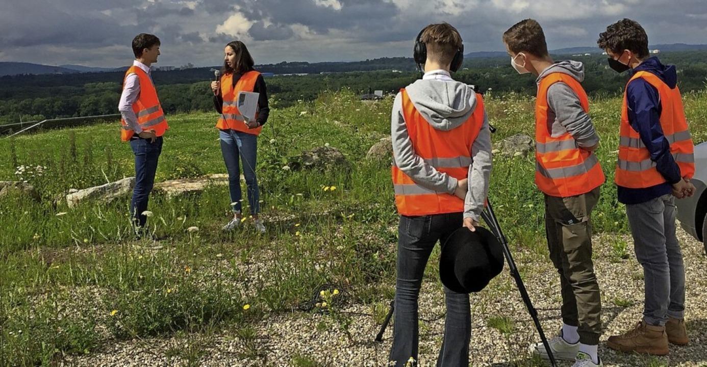 Die Schüler haben einen Film gedreht, ...der Müll-Problematik auseinandersetzt.    Foto: Faust-Gymnasium