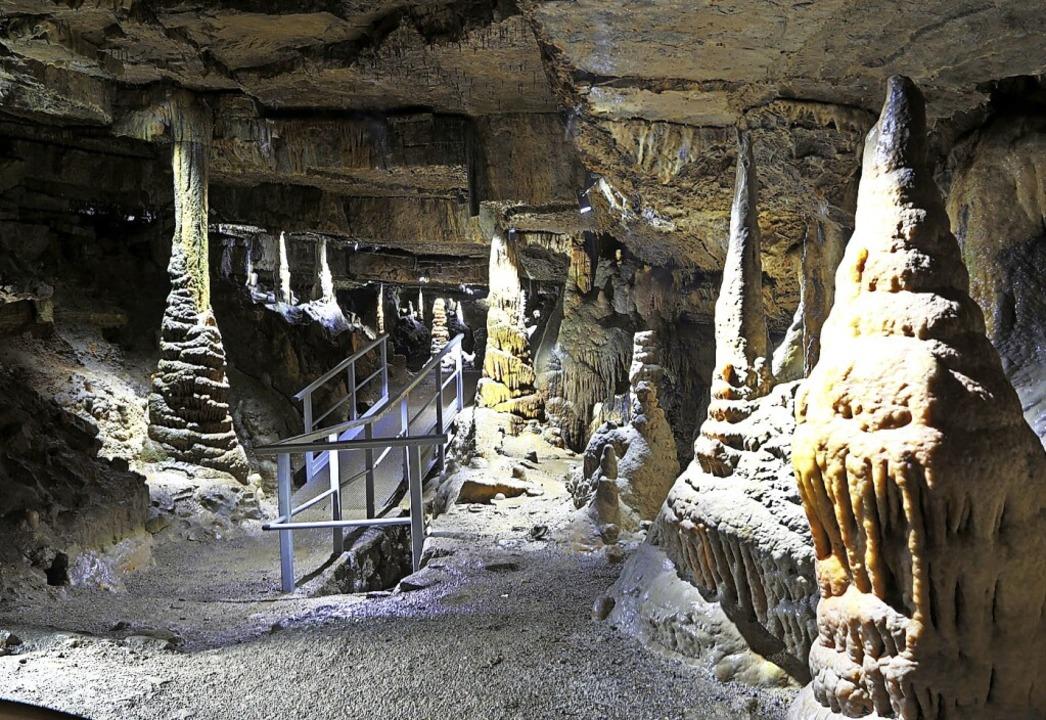 Der Besuch der Höhle ist künftig ohne Höhlenführer möglich.  | Foto: Meyer