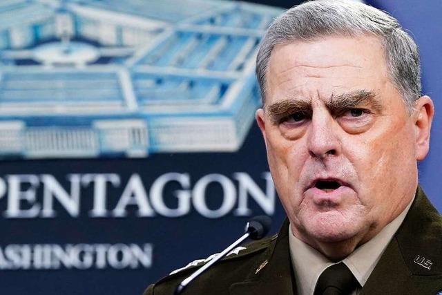 Militärführung schränkte Trumps Zugriff auf Atomwaffen ein