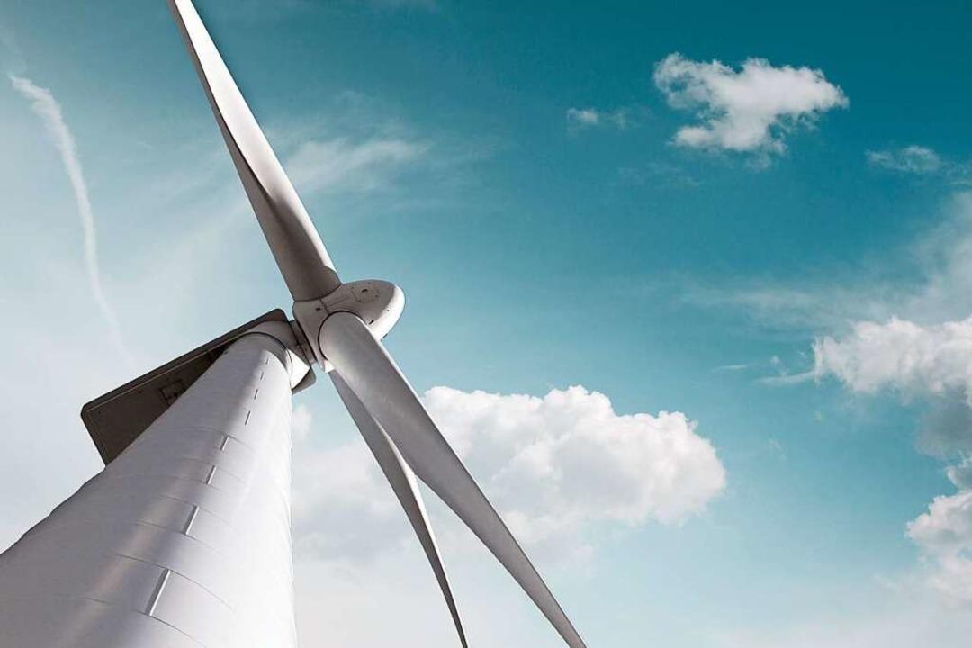 Ein modernes Windrad  | Foto: Massimo Cavallo