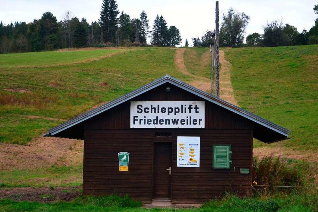 Der Skilift entspricht weder in der Lä...r Hangneigung heutigen  Anforderungen.    Foto: Liane Schilling