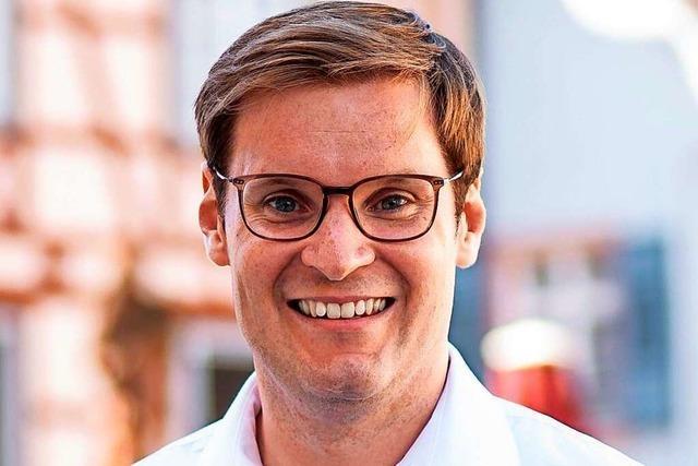 Yannick Bury (CDU) will die Nachfolge von Peter Weiß im Bundestag antreten
