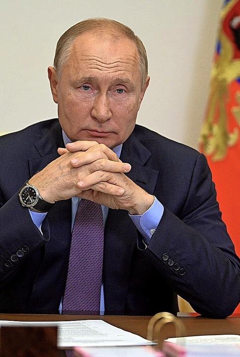 Wladimir Putin  | Foto: Alexei Druzhinin (dpa)