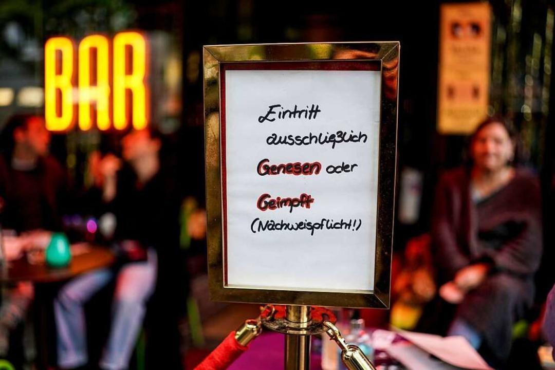 """""""Getestet"""" reicht nicht mehr überall – wie hier in Hamburg.    Foto: Axel Heimken (dpa)"""