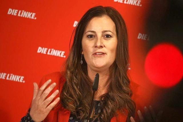 Janine Wissler fordert SPD und Grüne zu