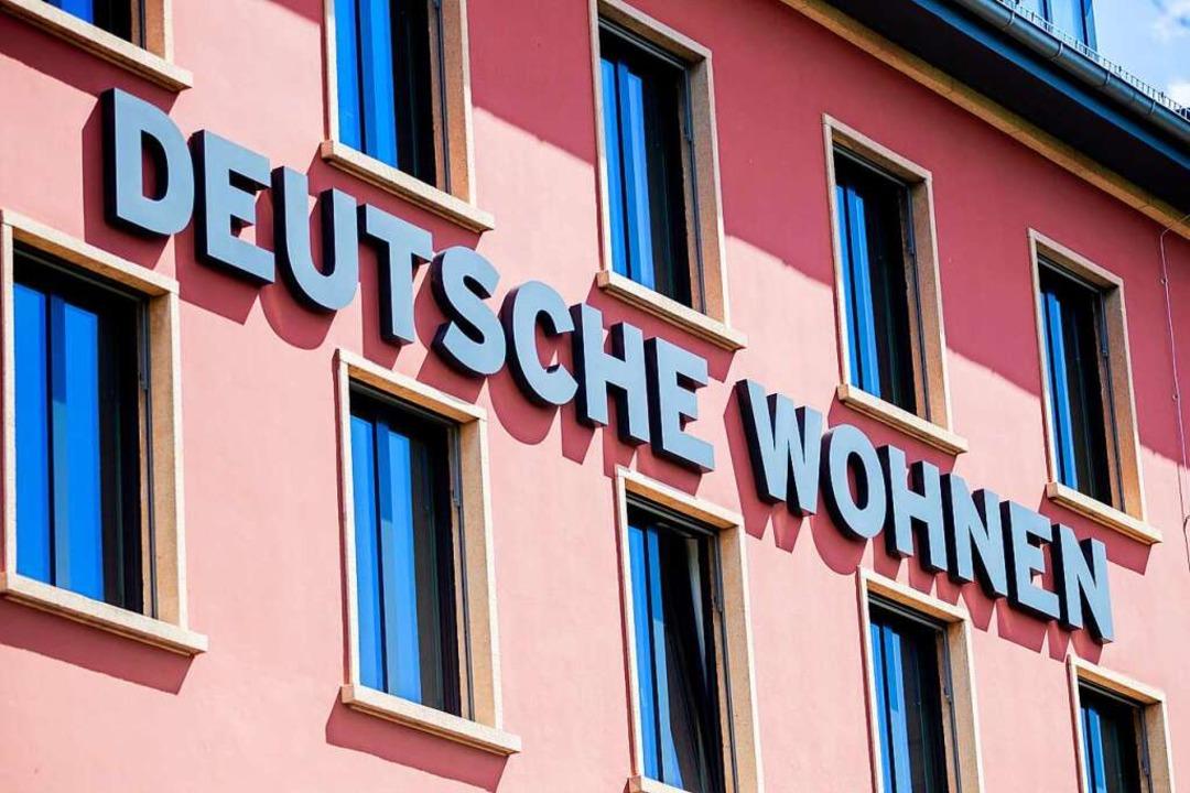 In Berlin sollen private Wohnungen gro... mehrheitlich dafür abgestimmt werden.  | Foto: Christoph Soeder (dpa)