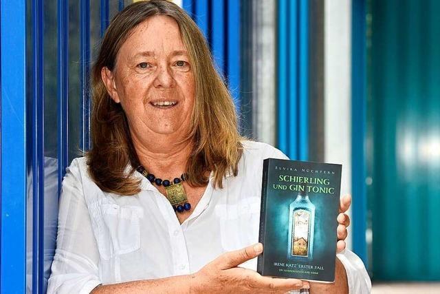 Eine Freiburger Grundschullehrerin hat einen Regio-Krimi geschrieben